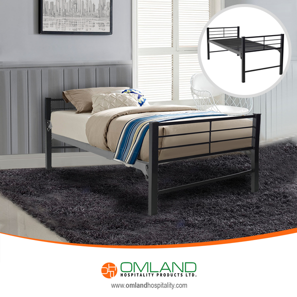 The Military Grade Platform Beds feature heavy duty steel