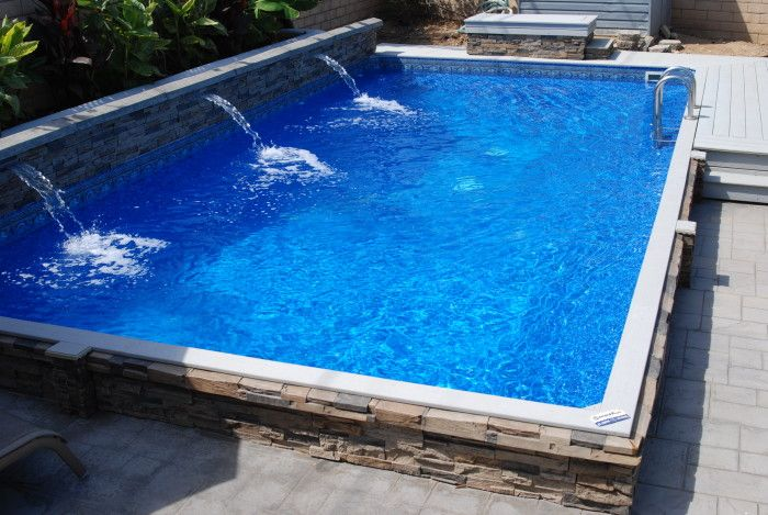 Islander Inground Pools Secard Pools Affordable Inground Pools Pool Landscaping Islander Pools
