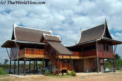 Thai Traditional Wooden House My Future Crib