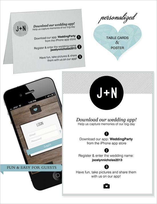 Wedding party app engaged now what pinterest app wedding party app junglespirit Choice Image
