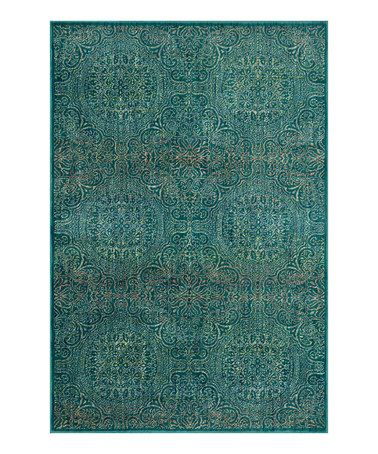 Teal Yellow Madeline Rug Area Rugs Rugs Teal Area Rug