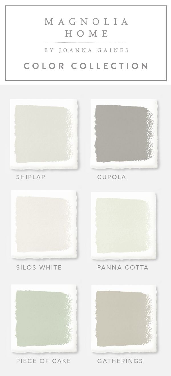 check out these neutral paint colors from the magnolia home