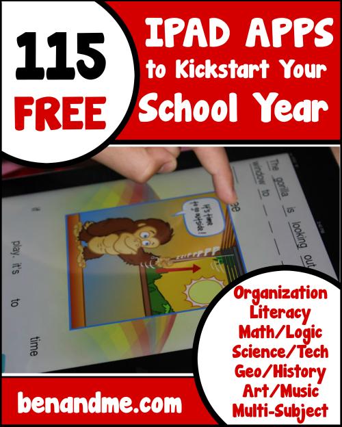 115 Free iPad Apps to Kickstart Your School Year   Pinterest ...