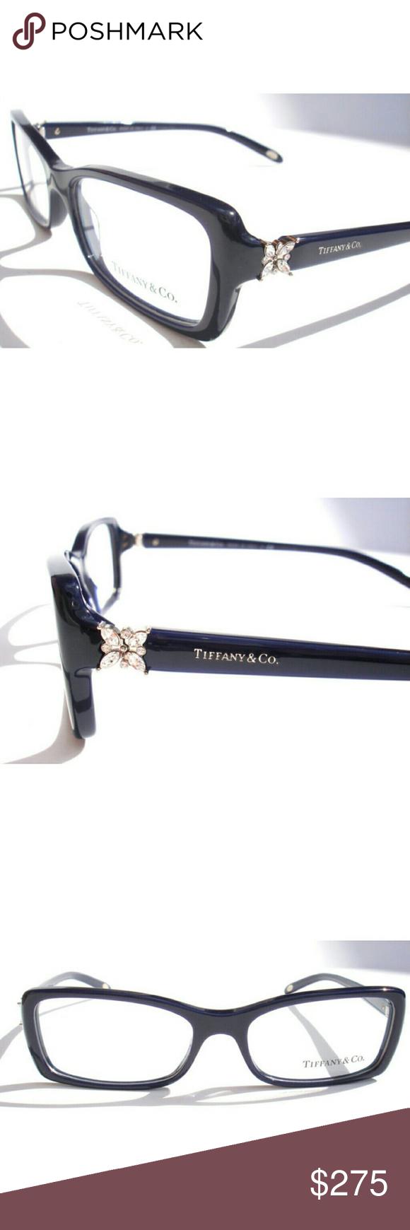f9af6e8cbda8 Tiffany   CO Eyeglasses Authentic Tiffany   Co Eyeglasses Dark blue frame  Size 53-16-140 Includes original case only Tiffany   Co. Accessories Glasses