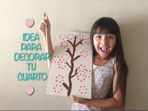Idea para decorar tu cuarto cuadros diy youtube - Cuadros para decorar ...