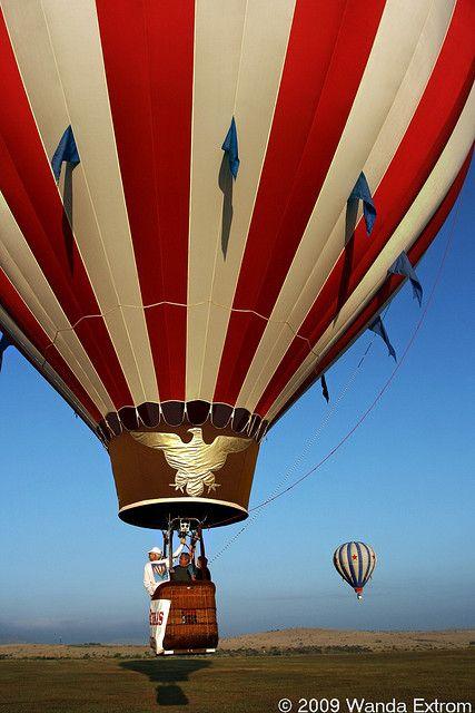 Balloon Shadow Big Bend Alpine Balloons West Texas
