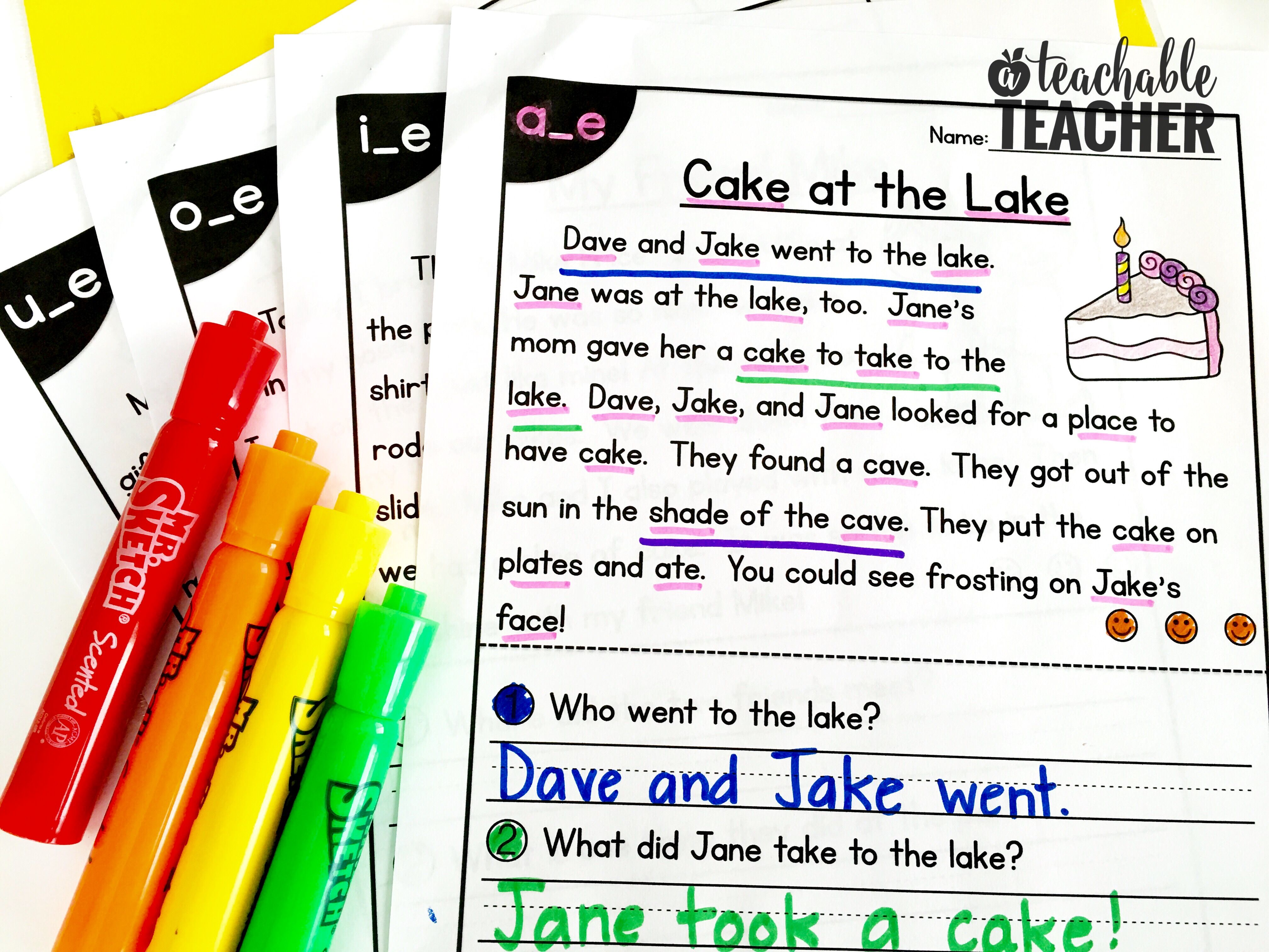 Free Phonics Reading Passages Students Love To Read Phonics Reading Passages Phonics Free Phonics Reading [ 3024 x 4032 Pixel ]