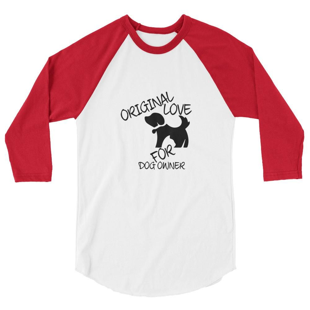f080dafc Ladies Dog Owners 3/4 Sleeve Raglan Shirt | Products | Raglan shirts ...