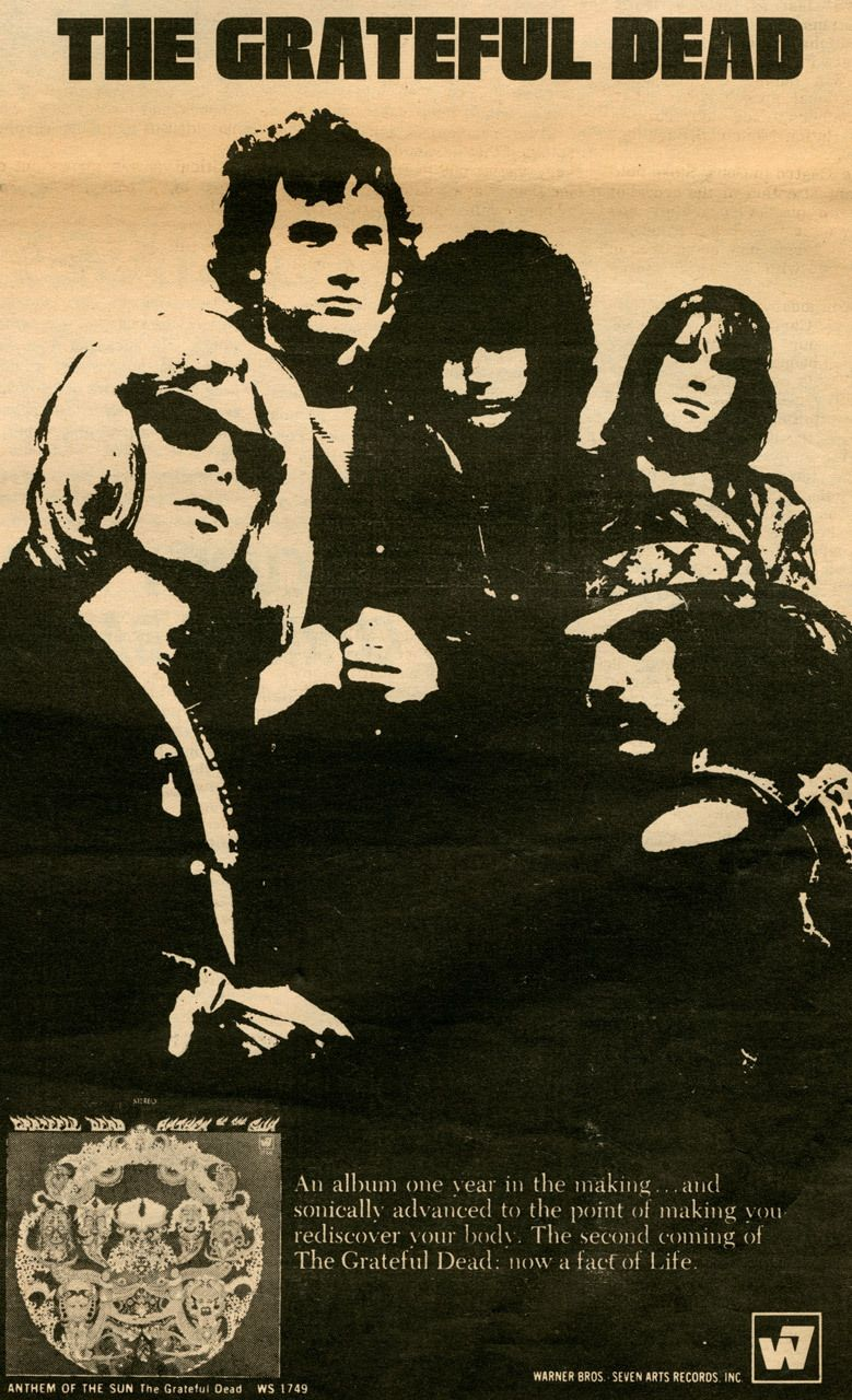 Babylonfalling Grateful Dead S Second Album Anthem Of The Sun