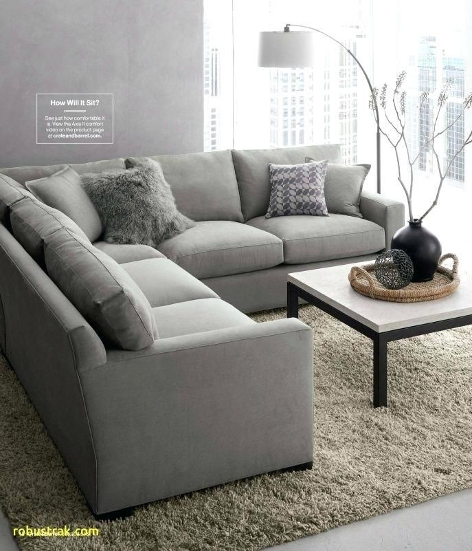 Crate And Barrel Furniture Reviews Cement Axis Sofa Large