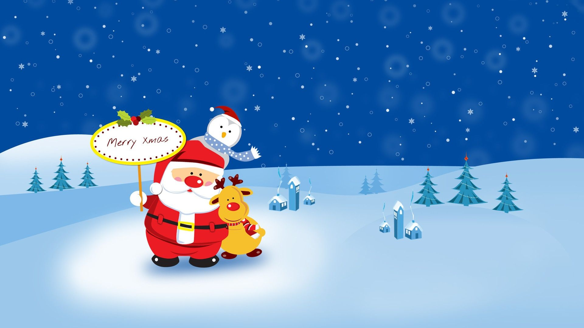 Cute Cartoon Christmas Images Cute Cartoon Christmas Wallpaper
