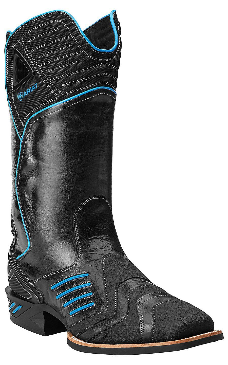 Ariat Men S Thunder Black Catalyst Double Welt Square Toe