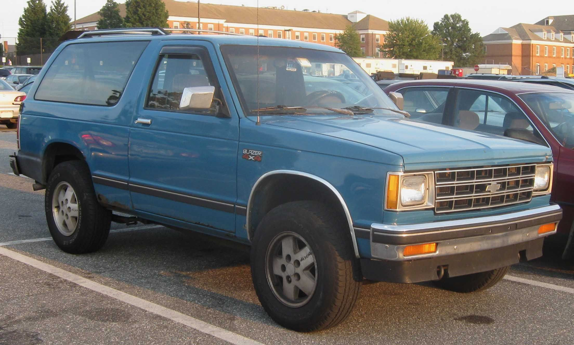 1990 Chevy S10 Blazer Yeah I Owned One Like This For About 6