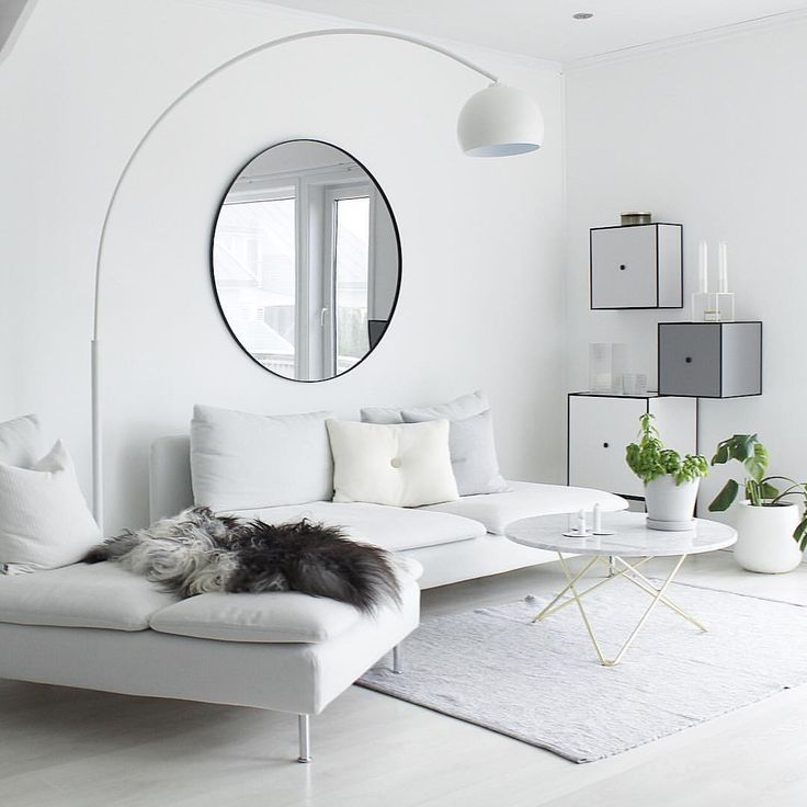 Modern Room · ♡ · White Living ... Part 42