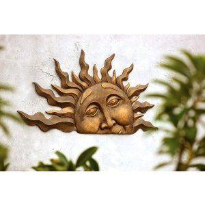 Amazon.com: SPI Home 33109 Half Sun Wall Plaque: Patio, Lawn & Garden