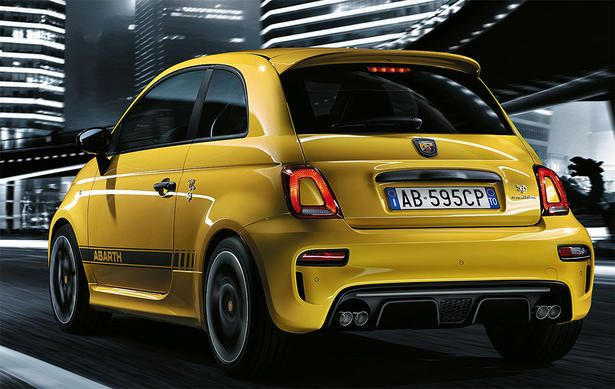2017 Fiat 500 Abarth 595 Revealed Fiat 500 Fiat Abarth Fiat