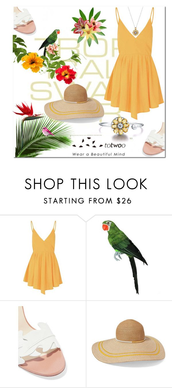 """""""It's a Jungle Out There!"""" by letiperez-reall on Polyvore featuring Glamorous, Francesco Russo, Eugenia Kim, WearableTech, totwoo and smartjewelry"""