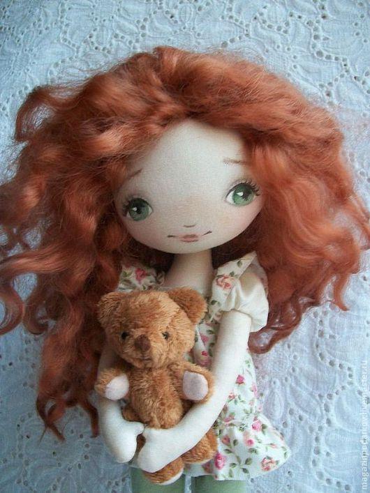 Коллекционные куклы ручной работы. Кукла  Зойка. Магазин Моники. Ярмарка Мастеров. Для дома, синтепух