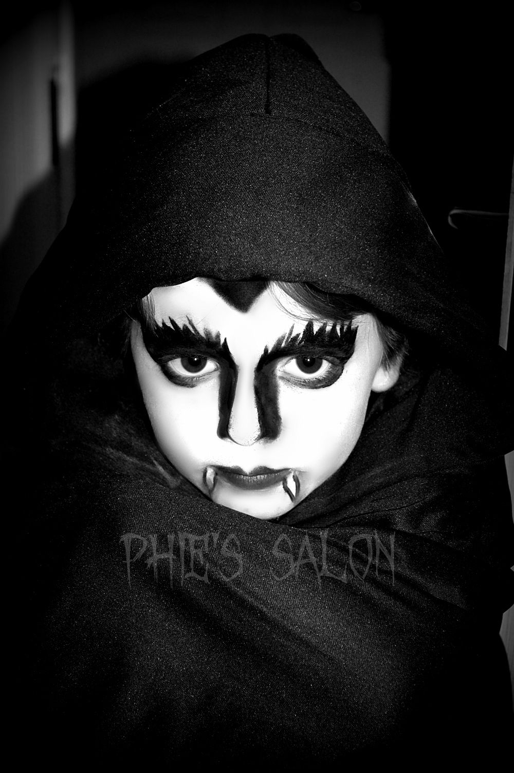 halloween kids vampire face paint | kids face paint | pinterest