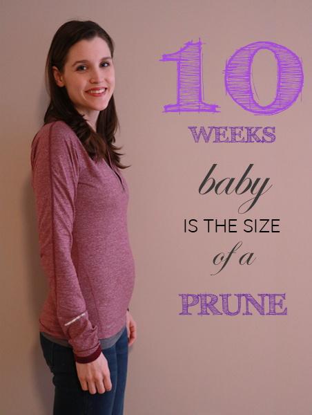 10 weeks pregnant update. Follow Trina's pregnancy with week-by-week  updates.