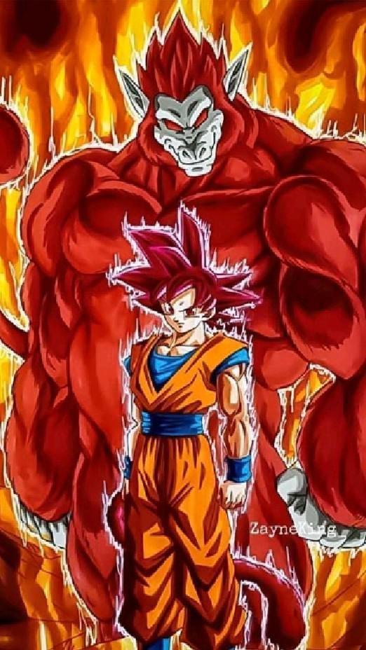 anime Dragon Ball super  y Naruto