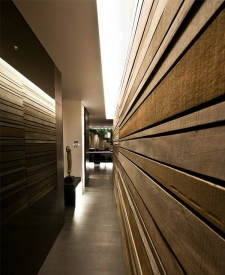 wood slat wall architecture Pinterest Wood slat wall Slat
