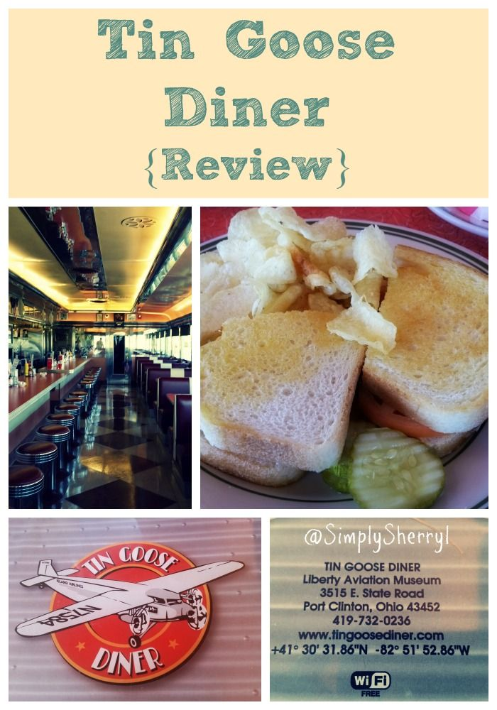 Tin Goose Diner {Review Places to eat, Food, Eat