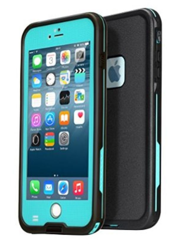 1bead7c877e694 AMBM Best iPhone 6 Case, iPhone 6 Waterproof Case [Newest] Underwater  Shockproof Snowproof Dirtpoof Protection Cover for 4.7 inches [Grass Blue]