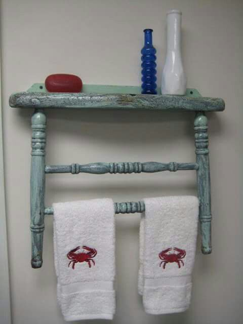 repurposed antique furniture. Discover Thousands Of Images About Towel Rack Made From An Old Chair.No Tutorial. Just Visual Idea To Repurpose Chair Repurposed Antique Furniture
