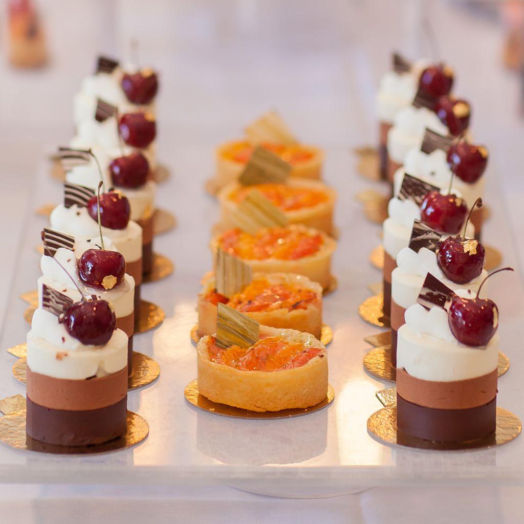 Mini Elegant Mini Fancy Desserts