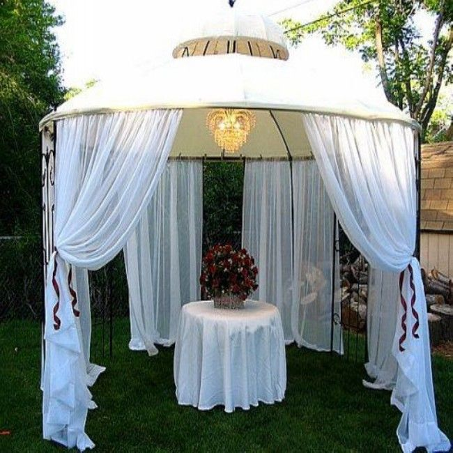 Awesome gazebo decorating you can do it yourself garden gazebo awesome gazebo decorating you can do it yourself junglespirit Choice Image