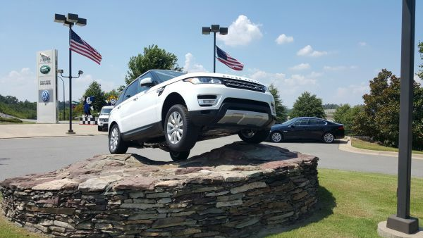 Take a look at an all-new Land Rover Range Rover today at Land Rover Little Rock!