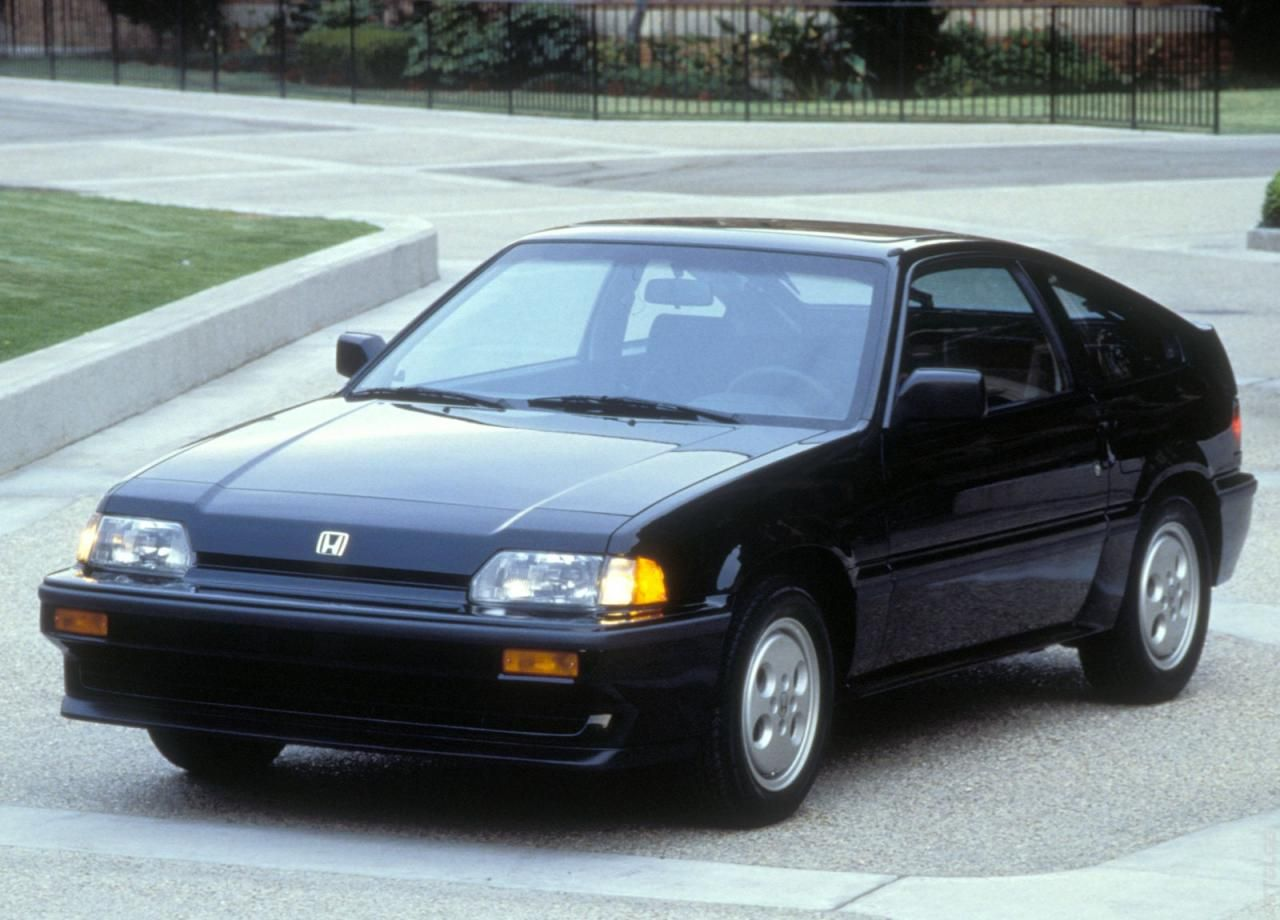 1986 Honda Civic CRX Si Tom and I were given this car by best friend ...