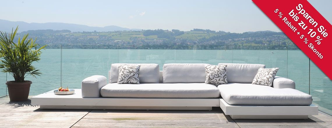 Gartensofas | Garten-Lounge | Vis à Vis Sofa | Tribù. Check it out ...