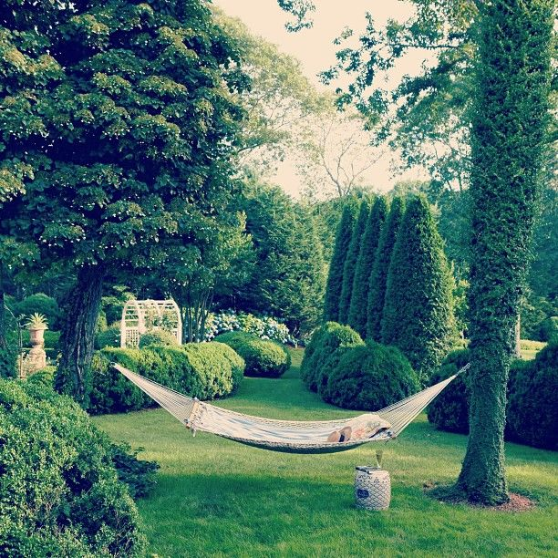 Charlotte Moss's East Hampton garden is divided into a series of rooms for dining or simply hiding out with a book.