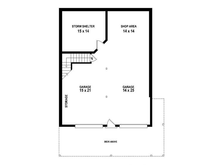 Lower Level Dreams Pinterest – Double Garage Apartment Plans