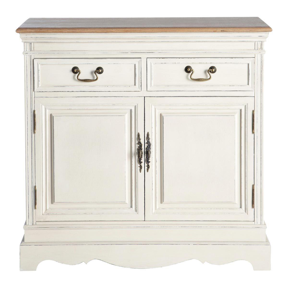 aparador de cocina de puertas blanco marfil lontine