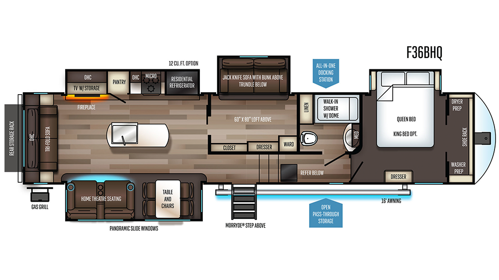 Sabre 36bhq Floor Plans Yahoo Image Search Results In 2020 Forest River Fifth Wheel Forest River Rv