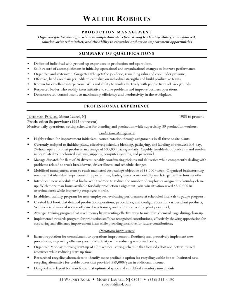 Warehousing Resume Cover Letter Examples For Admin Assistant