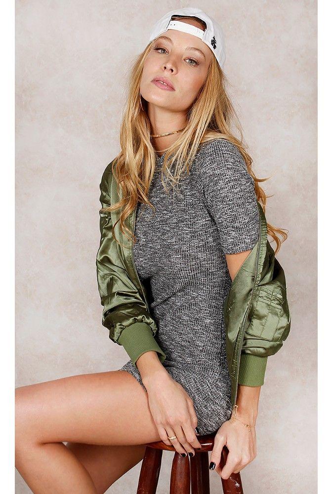 Vestido Stacey Grafite Fashion Closet - fashioncloset