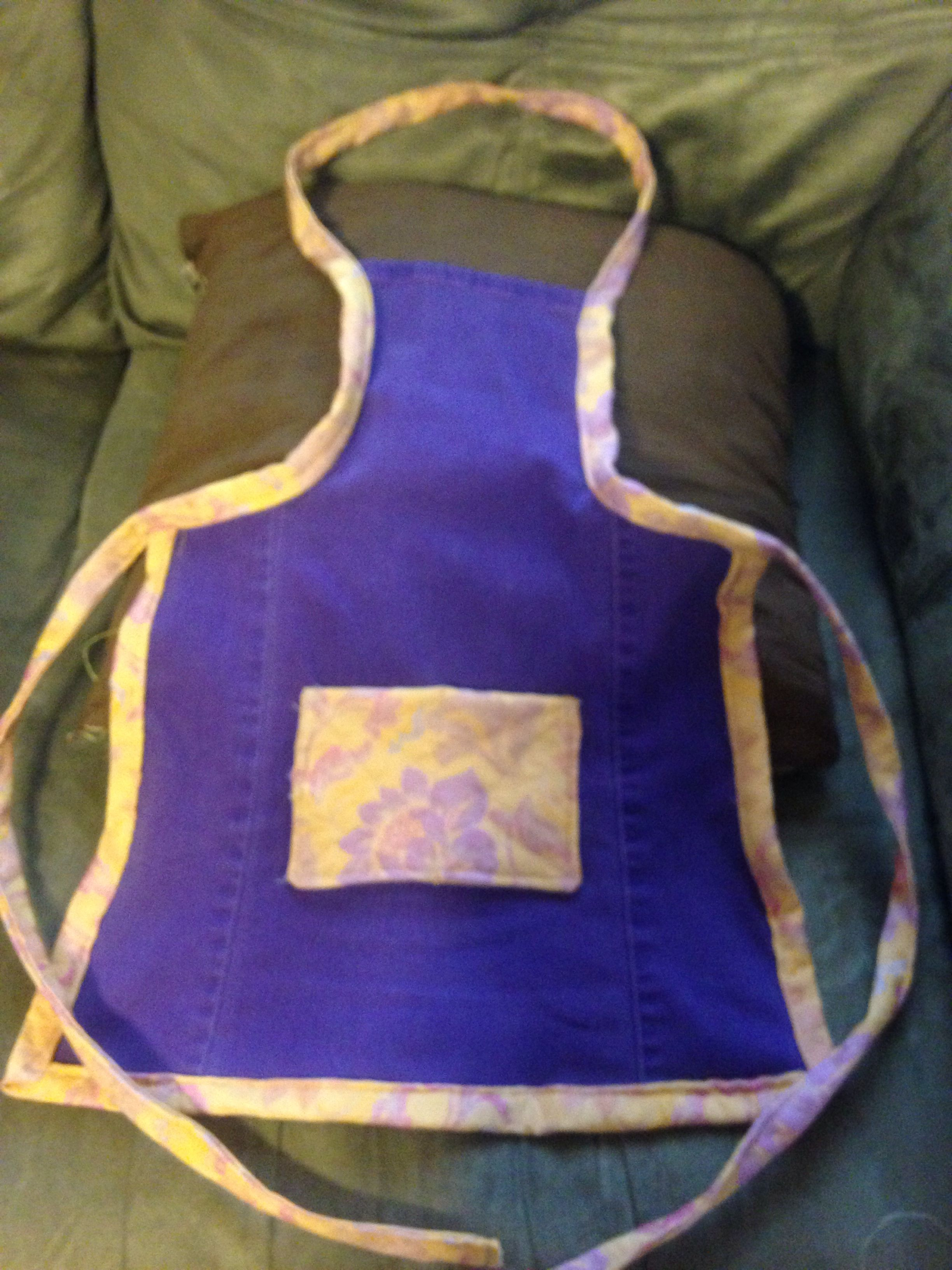 Child's handmade apron.  By Upcycled_Diva