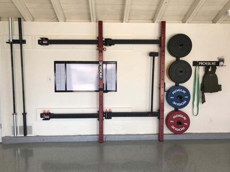 Folding Wall Mounted Racks Rigs Buying Guide Folding Walls Diy Home Gym Home Gym Design