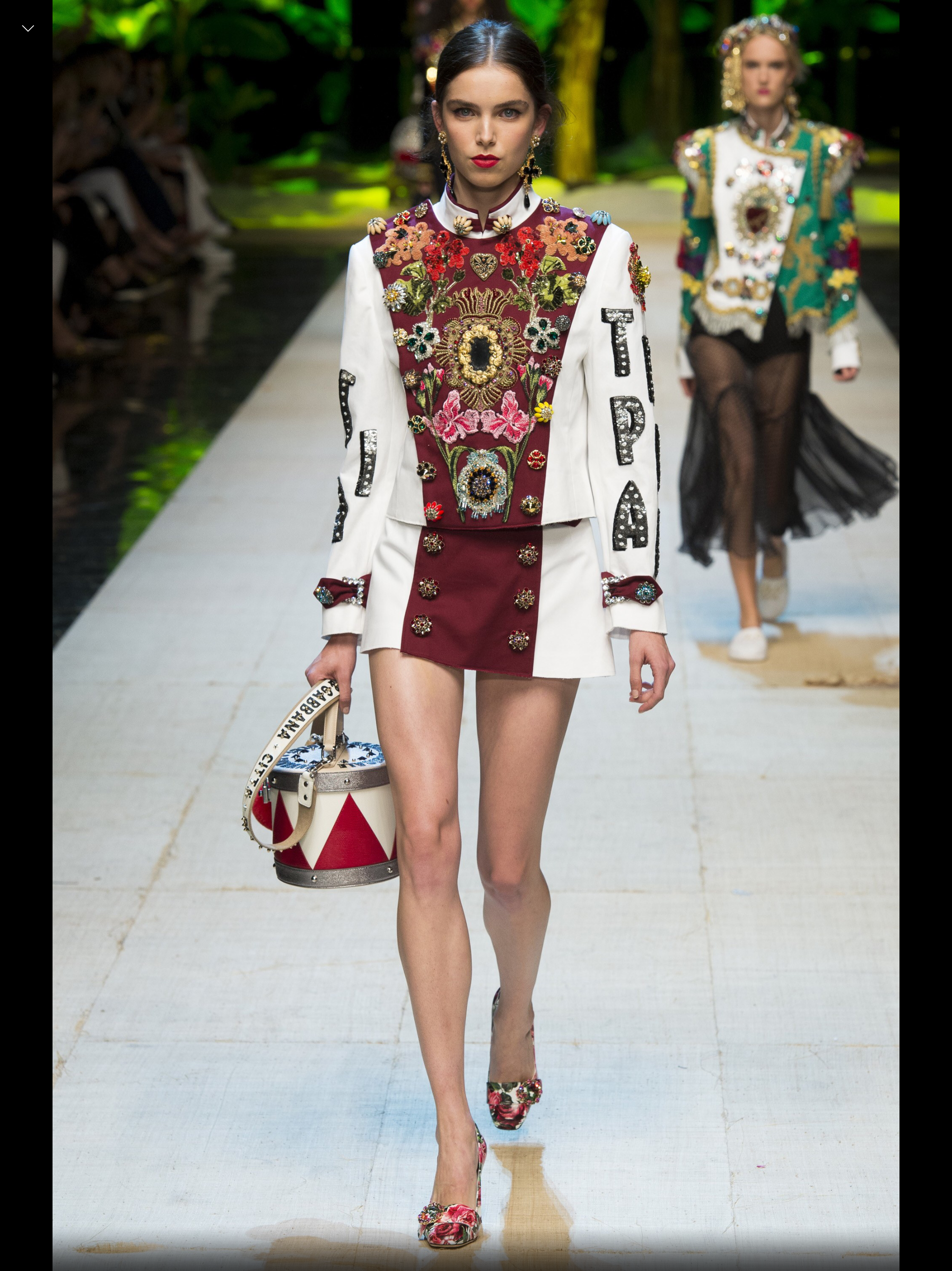 picture Dolce Gabbana Break The Mould With Their SS15 Show At Milan Fashion Week