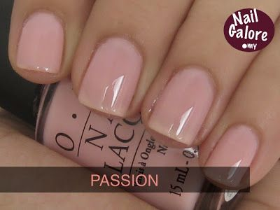 Passion Opi Softshades Pink Swatches Nail Galore In 2019