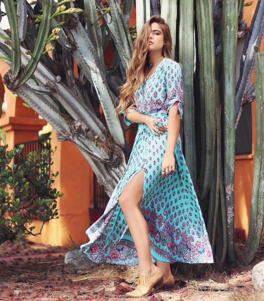 """Cactus livin' ⚡️ wearing @lesalty_label // :@dancingwithflyingcolors"""