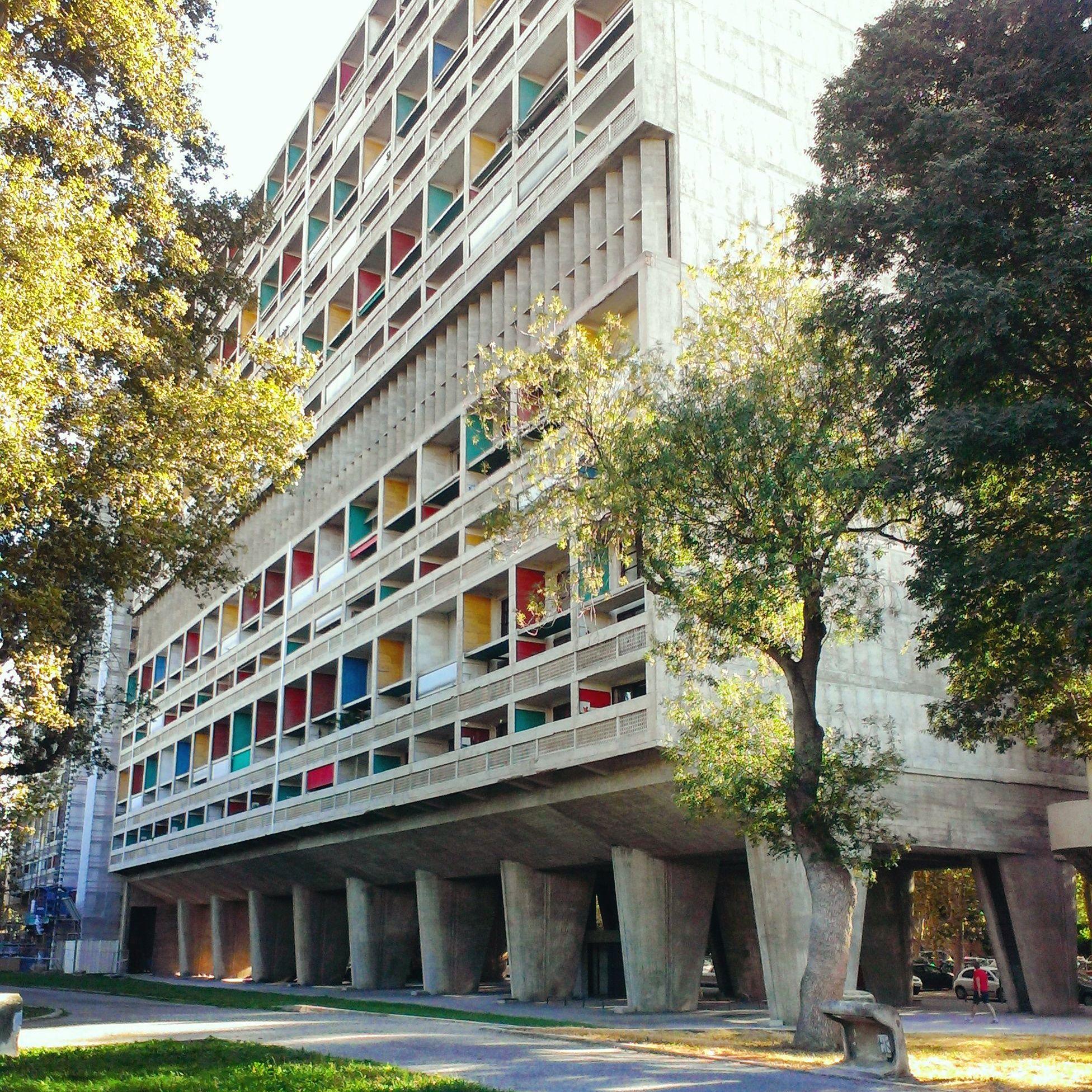 Cité Radieuse, Marseille, Le Corbusier.