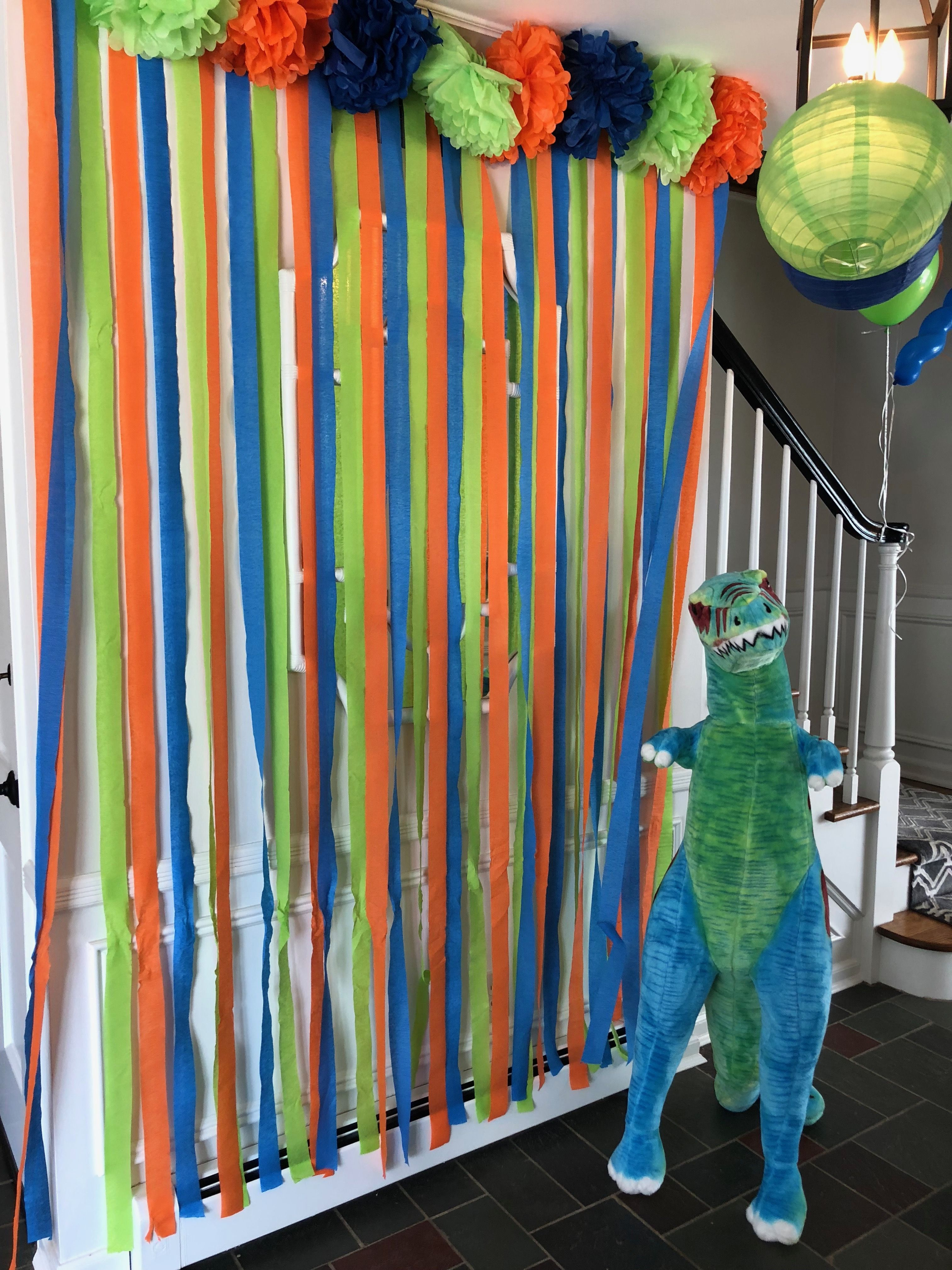 Prehistoric Party Decor And Step And Repeat