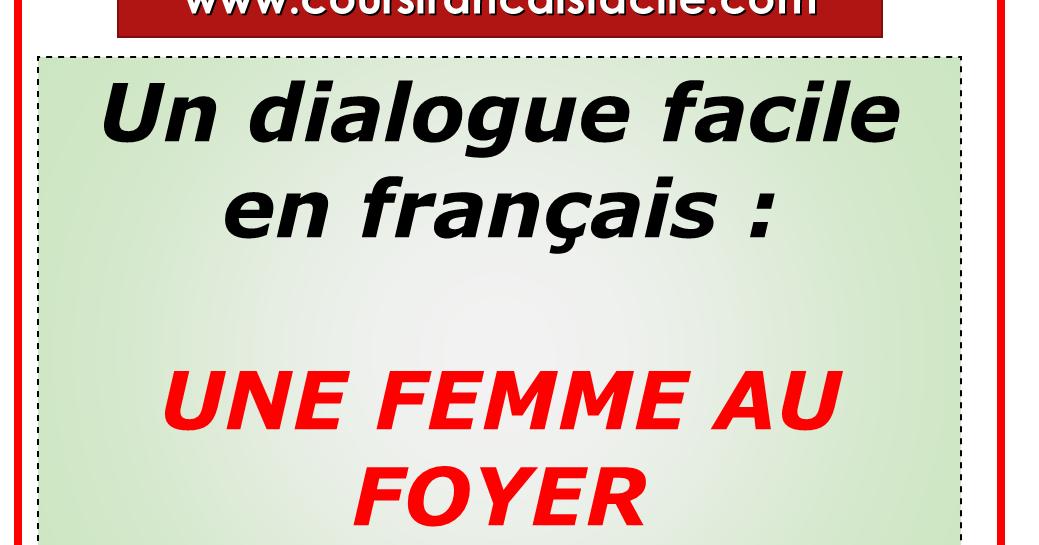 Francaise Femme Au Foyer