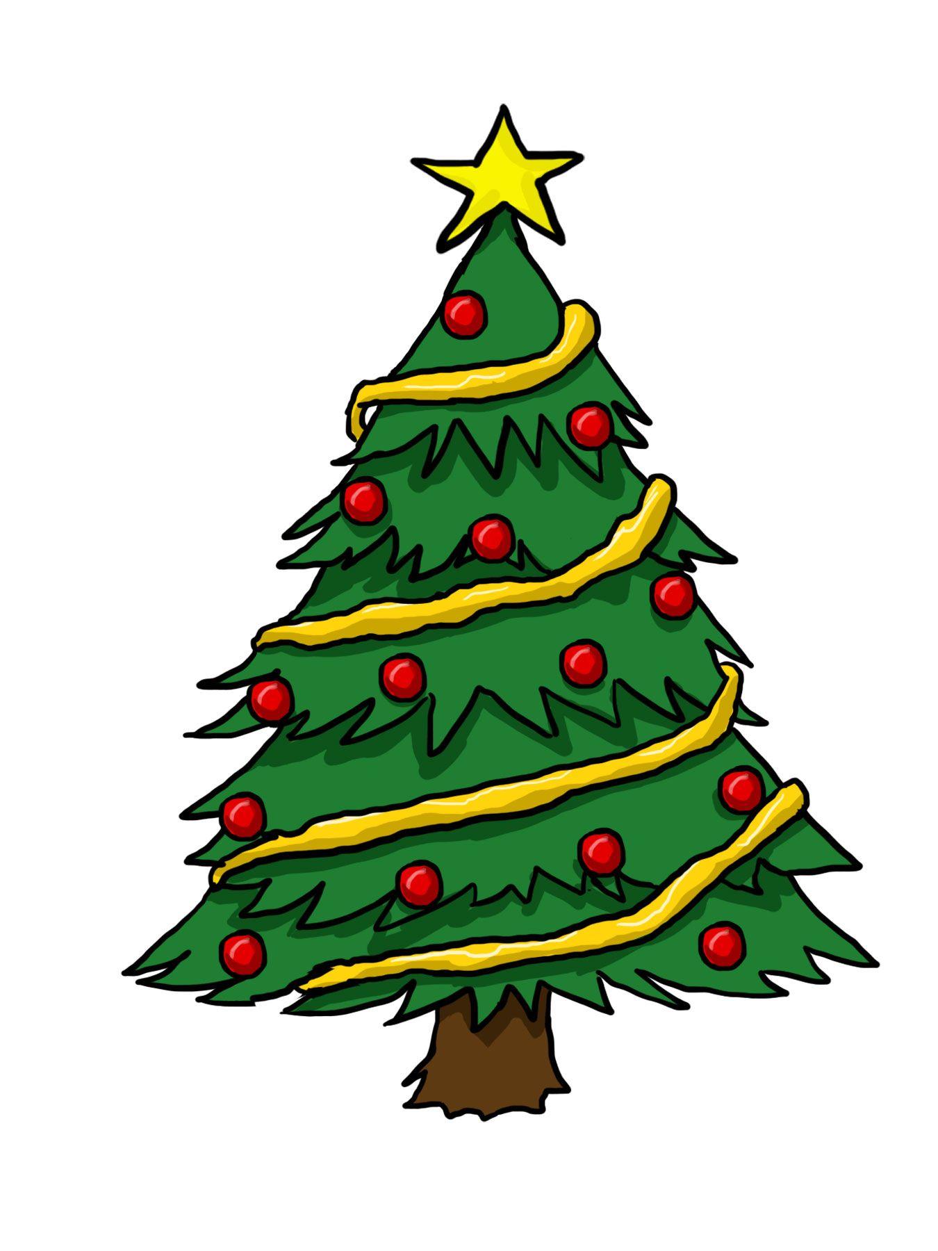 11 Charming Christmas Tree Clipart Christmas Tree Drawing Christmas Tree Clipart Christmas Tree Coloring Page
