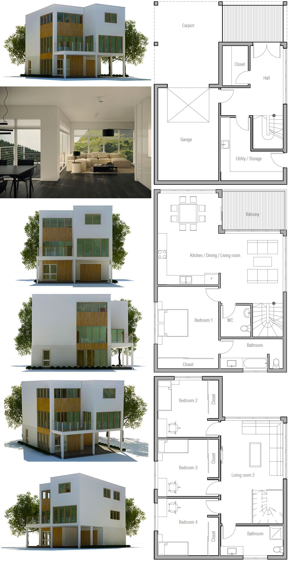 Architecture Design House Plans Modern Minimalist House Plan Architectural Design